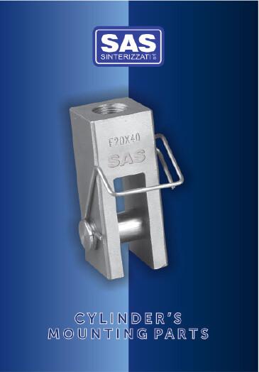 Accessori per cilindri ISO 6431 in alluminio